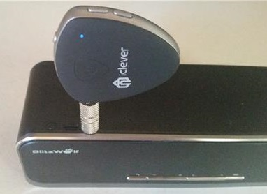 Bluetooth Receiver Transmitter iClever F56 Speaker Pairing