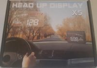 Review Binwen X5 Car HUD Heads Up Display with OBD2 II