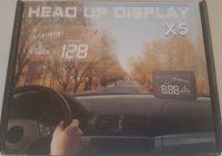 Review Binwen X5 Car HUD Heads Up Display with OBD2 II
