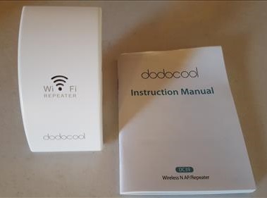 Review Dodocool N300 WiFi Extender Signal Booster Instructions