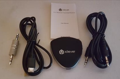 Review iClever Bluetooth Receiver Transmitter F56 Overview