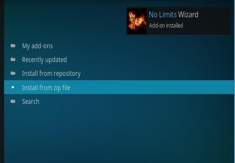How To Install No Limits Magic Wizard Kodi 17.1 Krypton Pic 13
