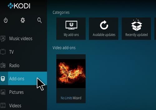 How To Install No Limits Magic Wizard Kodi 17.1 Krypton Pic 14
