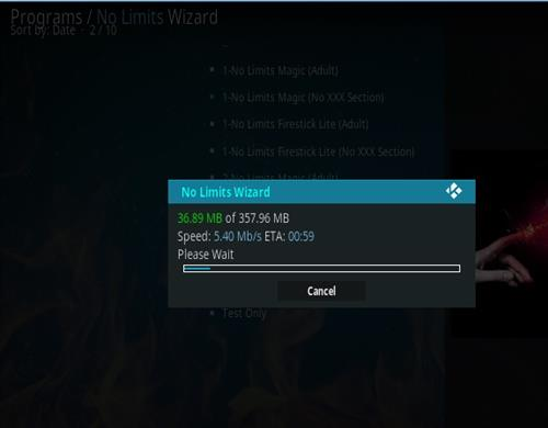 How To Install No Limits Magic Wizard Kodi 17.1 Krypton Pic 18