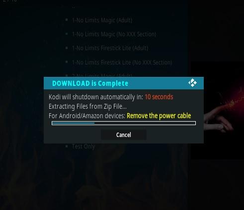 How To Install No Limits Magic Wizard Kodi 17.1 Krypton Pic 19