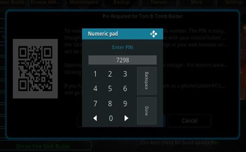 How To Install Tomb Raider Build Kodi 17.3 Krypton Step 25