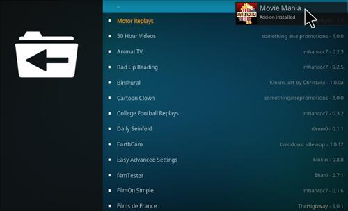How to Install Movie Mania Add-on Kodi 17.1 Krypton step 21