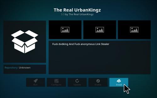 How to Install Urbankingz Add-on Kodi 17.1 Krypton step 18