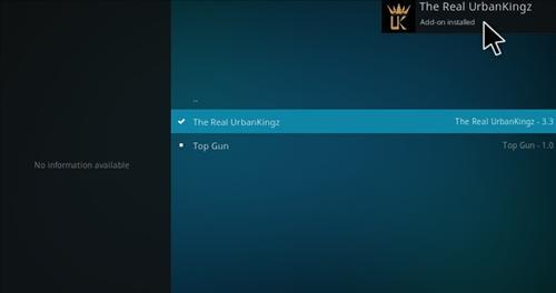 How to Install Urbankingz Add-on Kodi 17.1 Krypton step 19
