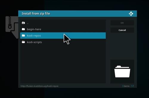 How to Install X-stream Add-on Kodi 17.1 Krypton step 12