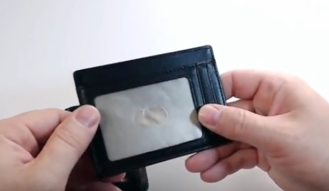 Review Kinzd RFID Protected Minimalist Slim Wallet Front Pocket Wallet Pic 2