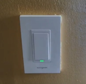 Review Koogeek Smart WiFi Light Switch 2.4Ghz No Hub Wall