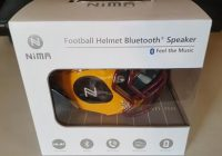 Review Nima Wireless Bluetooth Speaker NCAA Football Helmet