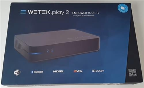 Review WeTek Play 2 ATSC Hybrid Media Center 4K Ultra HD Android TV Box