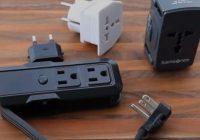 Best International Travel Power Adapters Converter Strips