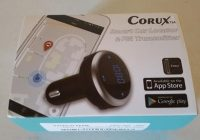 Review Corux Smart 3 in 1 Bluetooth FM Transmitter with Car Locator