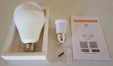 Review: 960P WiFi IP Camera Wireless LED Bulb | WirelesSHack
