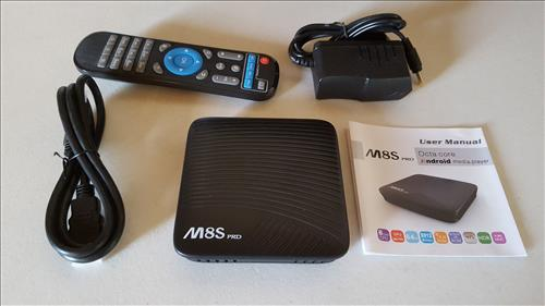 Review M8S Pro Android TV Box 3GB RAM S912 CPU ALL