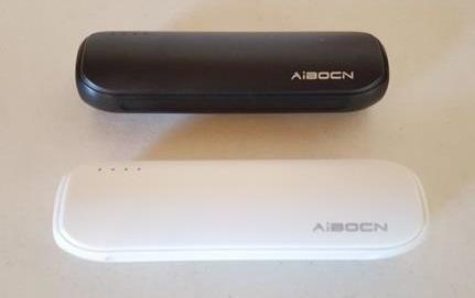Aibocn Mini Power Bank 8000mAh Portable Charger Both