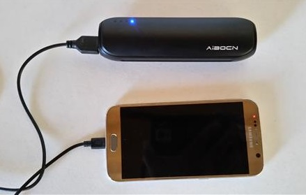 Aibocn Mini Power Bank 8000mAh Portable Charger