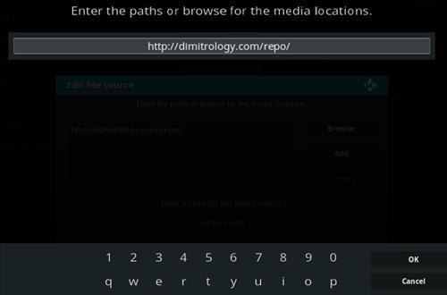 How To Install Dimitrology Repository Kodi 17 Krypton Step 5