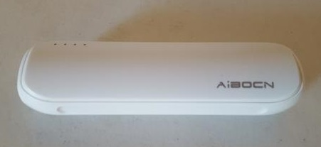 Review Aibocn Mini Power Bank 8000mAh Portable Charger with Fast Charging Technology