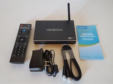 Review: HIMEDIA A5 Android TV Box Almlogic S912 2GB RAM