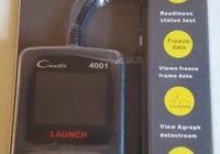 Review Launch CReader 4001 OBD2 Diagnostic Scan Tool