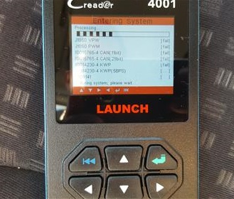 Review Launch CReader 4001 OBD2 Diagnostic Scan Tool Enter