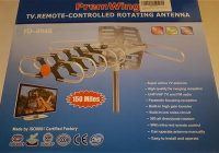 Review PremWing Digital 1080P HDTV Outdoor Amplified Antenna, 150 Miles Range