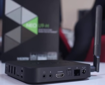 Review MINIX NEO U9-H Andriod 6.0 TV Box S912 2GB RAM Back