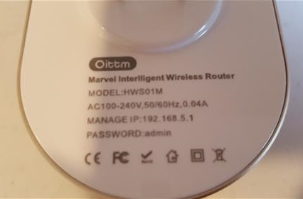 Review Oittm Smart WiFi Router with Wireless Range Extender Home WiFi System Username Password
