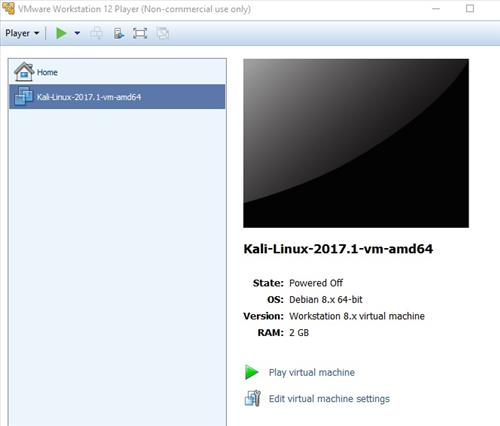 Review Panda PAU9 Kali Linux VMware Test