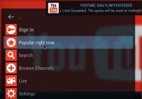 How To Fix YouTube Daily Limit Exceeded With API Key