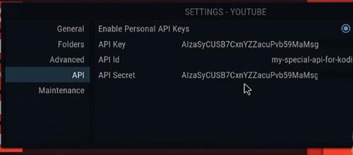 how to get alluc api key and paste on kodi