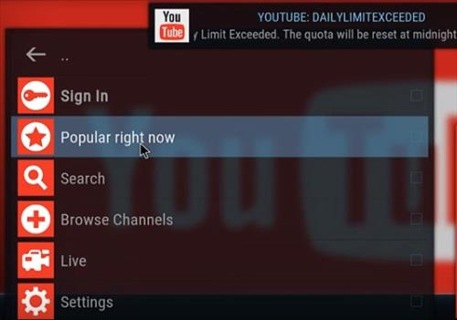 How To Fix Kodi YouTube Daily Limit Exceeded With API Key