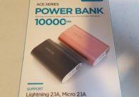 ROMOSS A10 Compact 10000mAh USB Power Bank Portable Charger