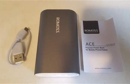ROMOSS A10 Compact 10000mAh USB Power Bank Portable Charger ALL