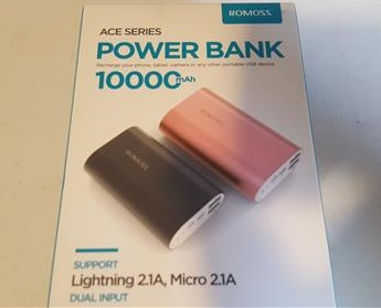 ROMOSS A10 Compact 10000mAh USB Power Bank Portable Charger