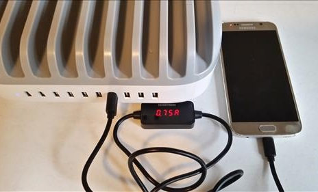 Review NUK-10P USB 10 Port Charging Station Dock and Organizer for Multiple Devices AMPS