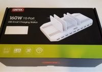Review UNITEK 160W 10 Port USB 3.0 Charger with Adjustable Dividers