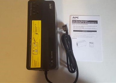 Review APC UPS 450 6 Outlets Battery Backup ALL