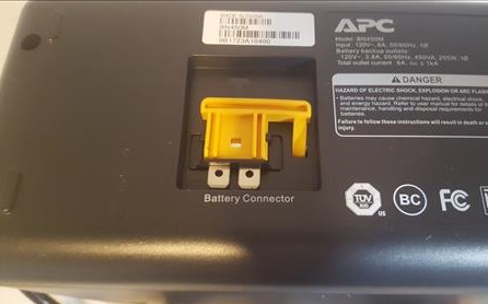 Review APC UPS 450 6 Outlets Battery Backup Outlets Fuse 1