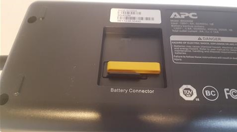Review APC UPS 450 6 Outlets Battery Backup Outlets Fuse 2