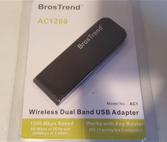 Review Brostrend Ac1200 Wireless Usb Adapter Dual Band