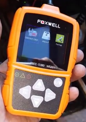 Review Foxwell NT201 OBDII Code Scanner Automotive Diagnostic Scan Tool