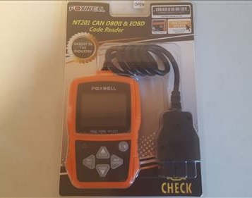 Review Foxwell NT201 OBDII Code Scanner Package