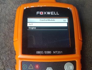 Review Foxwell NT201 OBDII Code Scanner Test 2