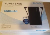 Review OLALA S70-i 7800mAh Ultra-Compact Portable Smartphone Power Bank Charger