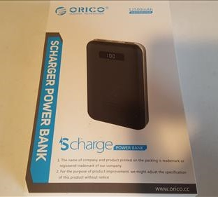 Review ORICO Scharge12500mAh Power Bank with USB Type-C and USB 3.0 Ports